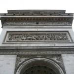 Paris vu du haut de l'Arc de triomphe