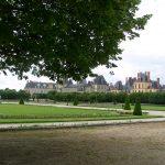 A travers les jardins du château de Fontainebleau…